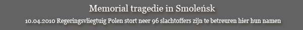 10.04.2010 Regeringsvliegtuig Polen stort neer 96 slachtoffers zijn te betreuren hier hun namen, laten we hen gedenken.